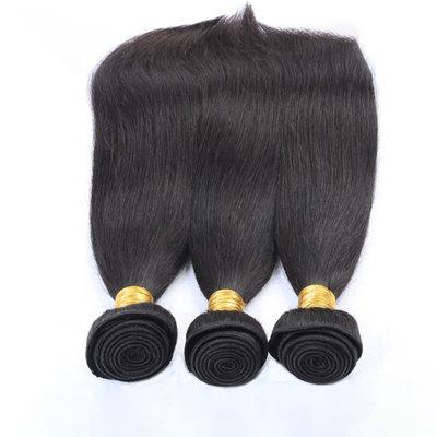 7A Derecho Cabello humano Postizo de cabello humano (Vendido en una sola pieza)