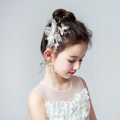 Strasssteine mit Blume Haarnadeln/Ohrringe (3-er Set)