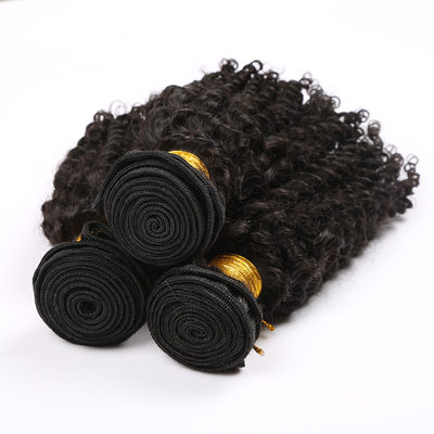 5A Lockig Menschliches Haar Geflecht aus Menschenhaar (Einzelstück verkauft)
