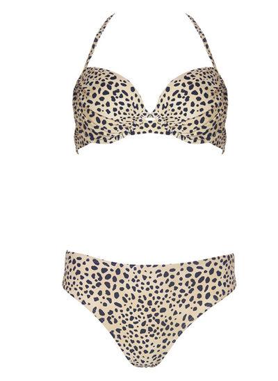 Mooi Leopard Bloemen Bikini