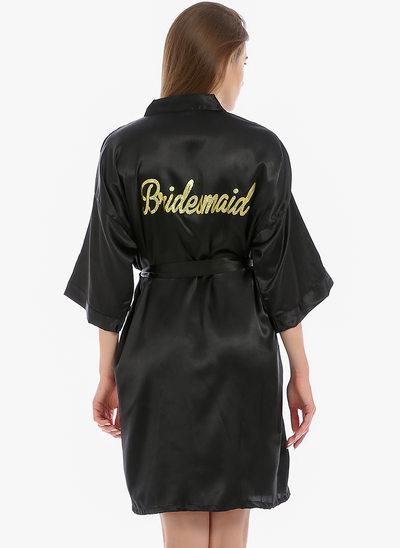 Bridesmaid Glitter Print Robes