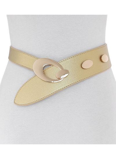 Fashional Alloy/PU Belt