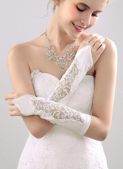 Nylon Elbow Length Bridal Gloves