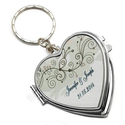 Groomsmen Geschenken - Persoonlijke Klassiek Elegant Roestvrij Staal keychain