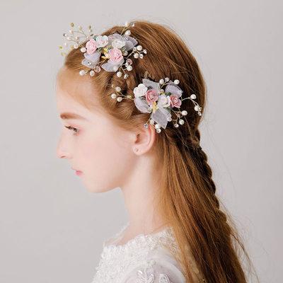 mit Faux-Perlen/Blume Kämme und Haarspangen (3-er Set)