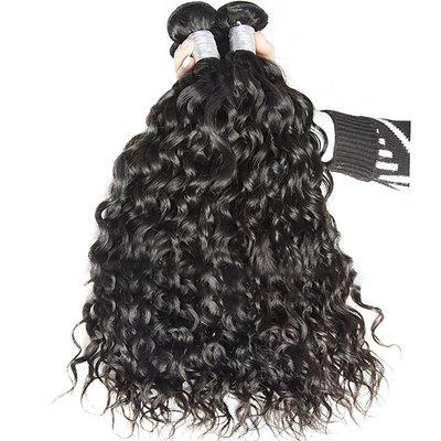 4A Ne remy Vodní vlna Lidský vlas Lidské vlasy tkát (Prodáno v jediném kusu) 50g