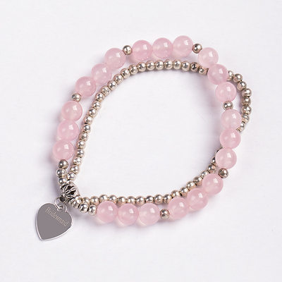 Brudepike Gaver - Personlig Vakkert Imitert Perle Armbånd