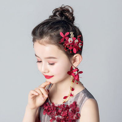Alloy/Crystal With Flower Headbands/Earrings (Set of 3 pieces)