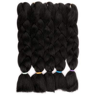 Jumbo Braid Synteettiset hiukset punokset (Myydään yhtenä kappaleena) 100g