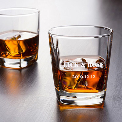 Groom Gifts - Personalized Solid Color Glass Cup