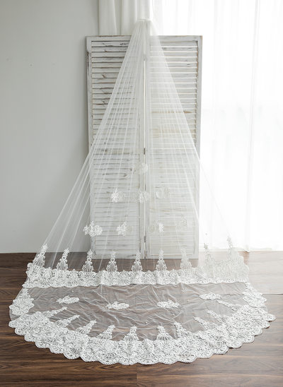 One-tier Chapel Bridal Veils