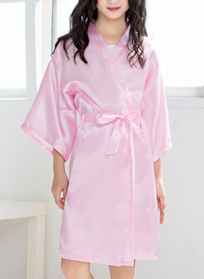 Icke Personlig charmeuse Flower Girl Blank Robes