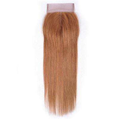 "4""*4"" 4A Gerade Menschliches Haar Bedeckung (Einzelstück verkauft)"