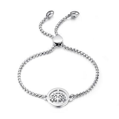 Link & Chain Braccialetti Bolo con Albero - Regali Di San Valentino Per Lei