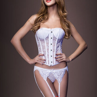 Women Feminine/Sexy/Honeymoon Spandex Bodysuit Shapewear