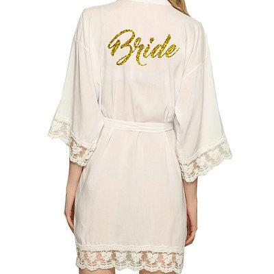 Bride Gaver - Sexy Klassisk Stil Satin Kappe
