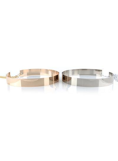 Elegante Metallo Fusciacche con Metallo