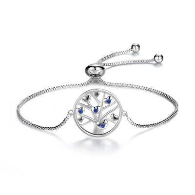 Link & Chain Braccialetti nuziali Braccialetti Bolo con Albero - Regali Di San Valentino Per Lei