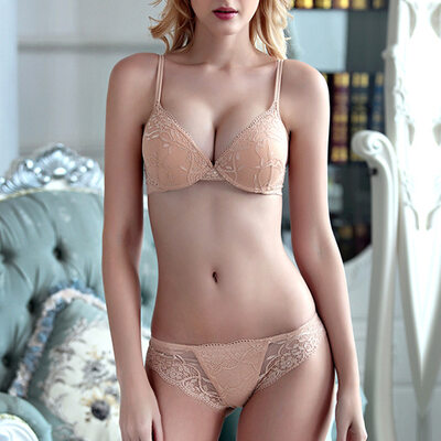 Elegant Chinlon Nylon Full Coverage Bra Sets