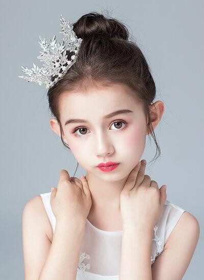 Alloy/Imitation Pearls/Crystal Tiaras