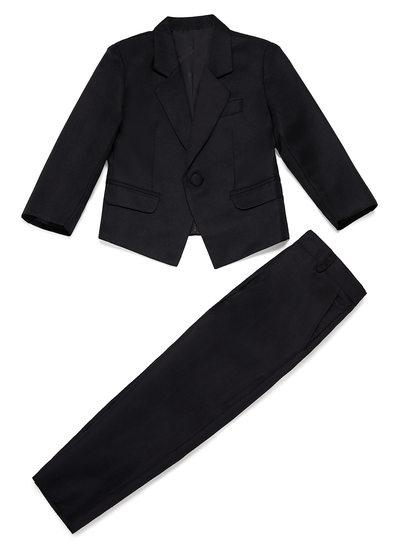 Garçons Solide Costumes pour les porteurs de bague avec Veste Un pantalon