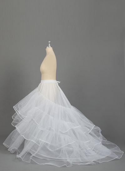 Women Nylon/Tulle Netting 3 Tiers PLUS SIZE Petticoats