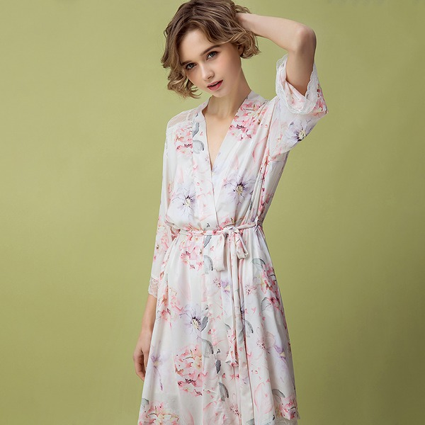 Polyester Charmen Brude/Feminin nattøj