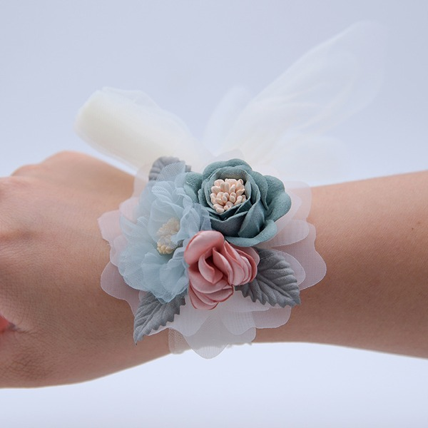 Hand-tied Wrist Corsage -