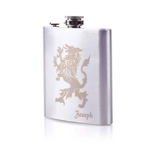 Personalized Lion Stainless Steel Flask