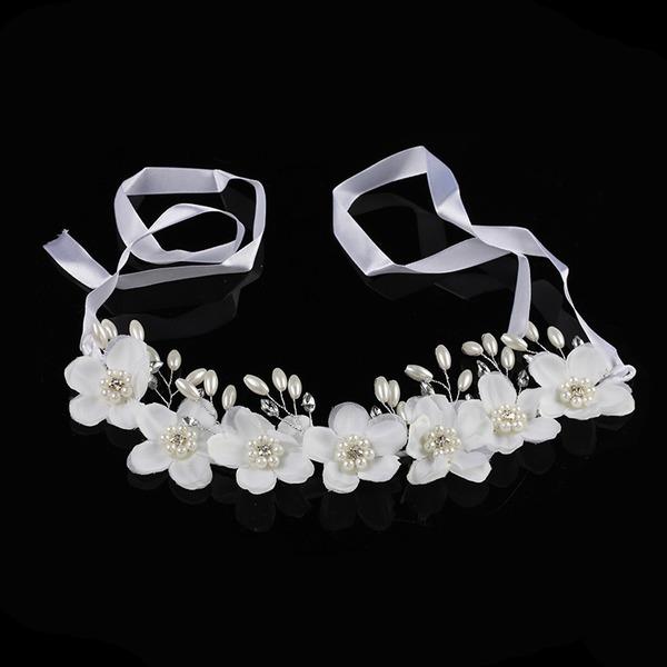 Drahokamu/Silk Flower Čelenky S Drahokamu (Prodává se jako jeden kus)
