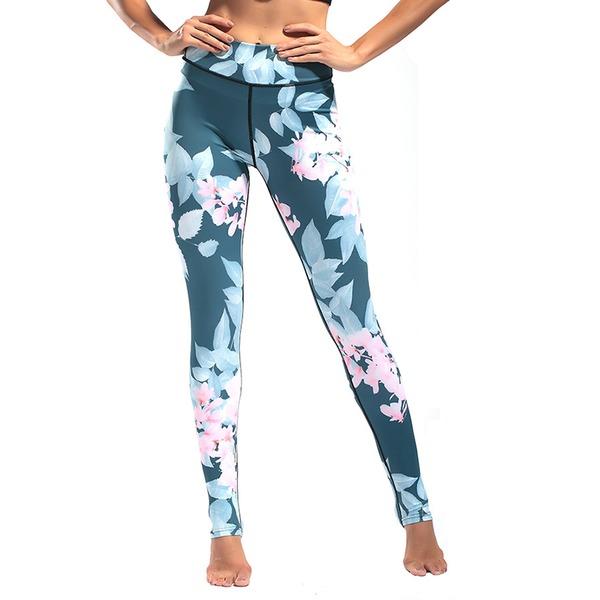 Vrouwen Danskleding Spandex Kleur Polyester Yoga Unitards