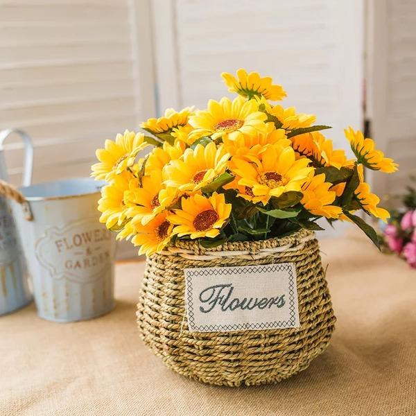 Helle Freigeformt Seide Blumen Dekorationen/Hochzeits-Tabellen-Blumen -