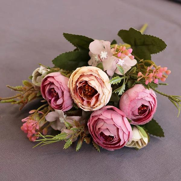 Kleurrijk Free-Form Zijde Bloemen Decoraties/Bruiloft Tabel Bloemen -
