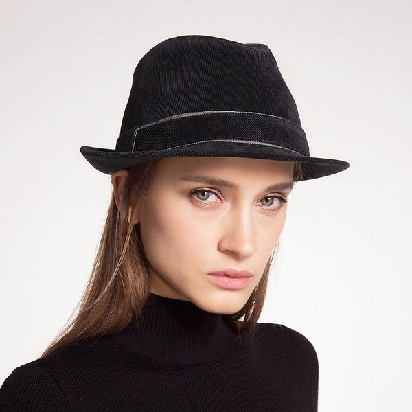 Señoras' Glamorosa/Llamativo/Estilo de la vendimia Madera Disquete Sombrero