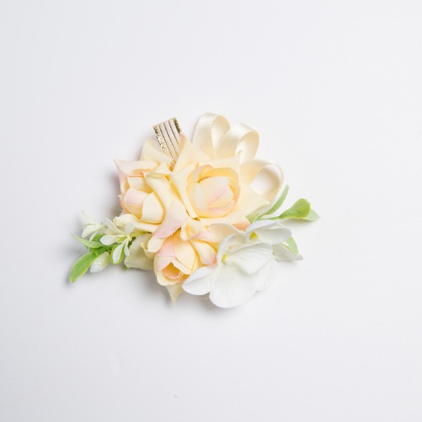Nice Satin/Fabric Wrist Corsage (Sold in a single piece) -