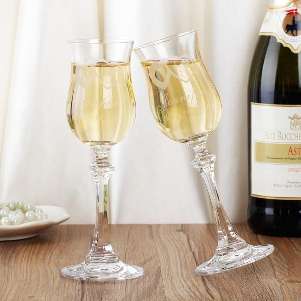 personalisé Design simple Flûtes à champagne