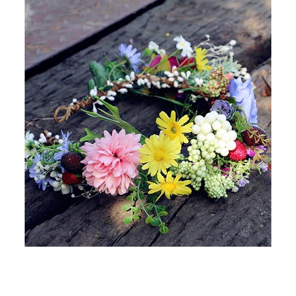 Filles Spécial Fleur en soie Bandeaux
