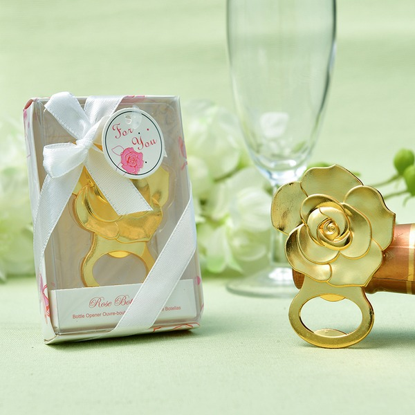 Rose Design Zinc Alloy Bottle Openers