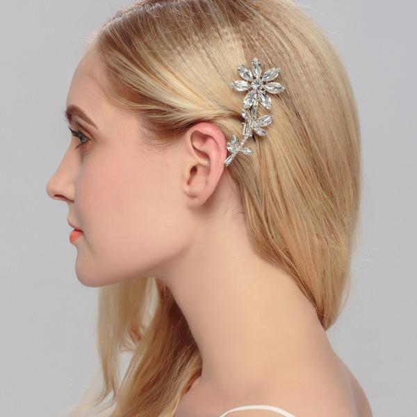 Elegante Strass Pettine & clip di capelli