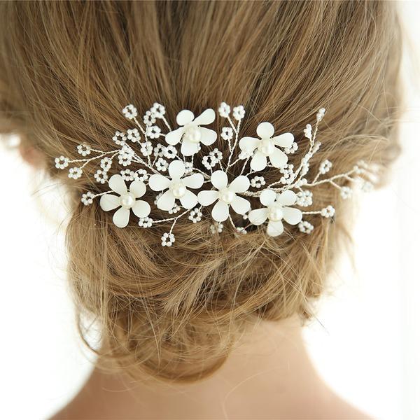 Élégante De faux pearl épingles à cheveux avec Perle Vénitienne (Vendu dans une seule pièce)