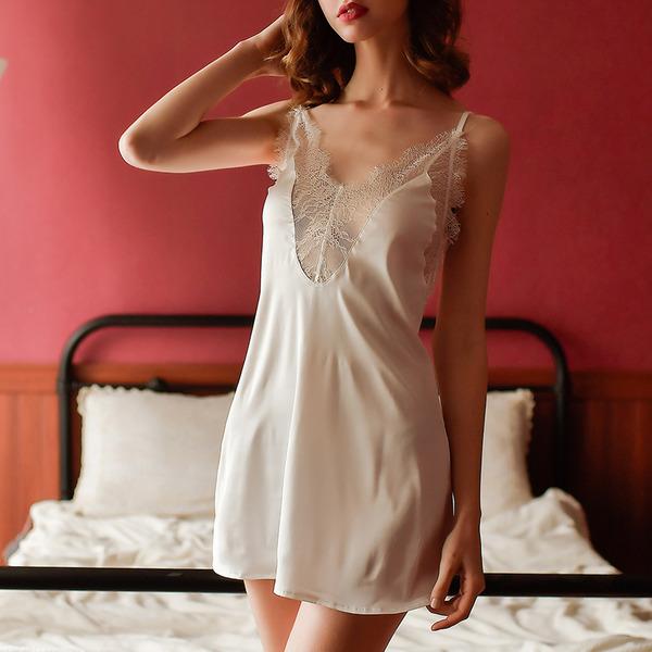 Cetim Clássico Nupcial/Feminino roupa de dormir/pijamas set