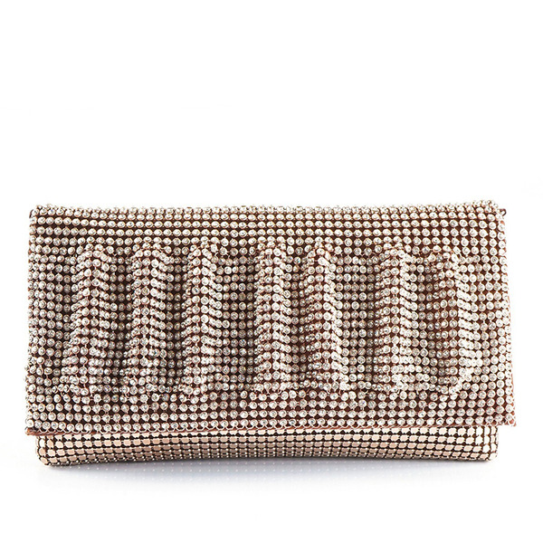 Shining/Refined/Pretty Crystal/ Rhinestone Clutches/Bridal Purse/Evening Bags