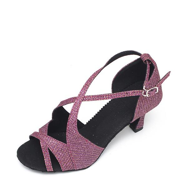 Femmes Pailletes scintillantes Latin Chaussures de danse