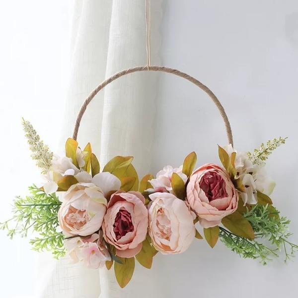 Clássico/Nice Lovely/Redondo Flores Artificiais Decorações de Casamentos