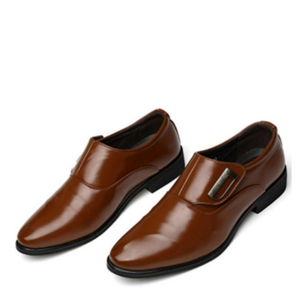 Men's Microfiber Leather Penny Loafer Casual Work Men's Oxfords