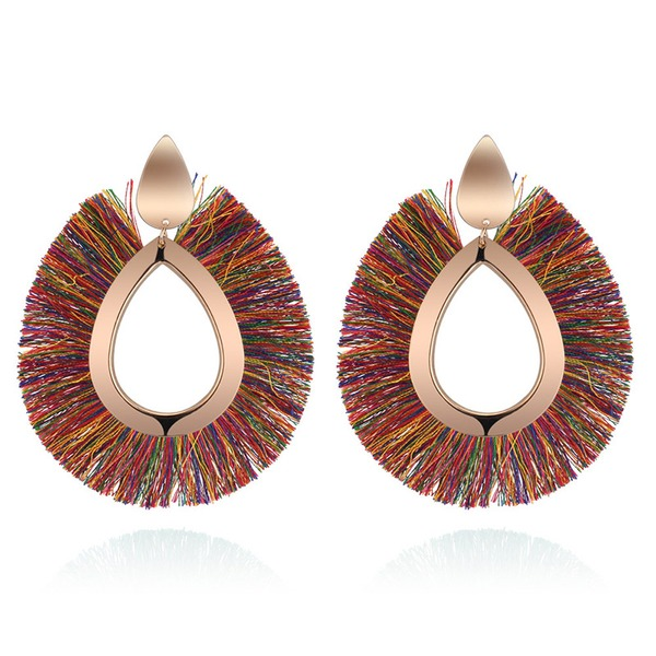 Beautiful Copper Women's Fashion Earrings