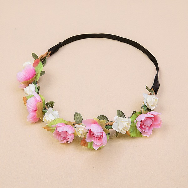 Ladies Beautiful Silk Flower Headbands (Sold in single piece)