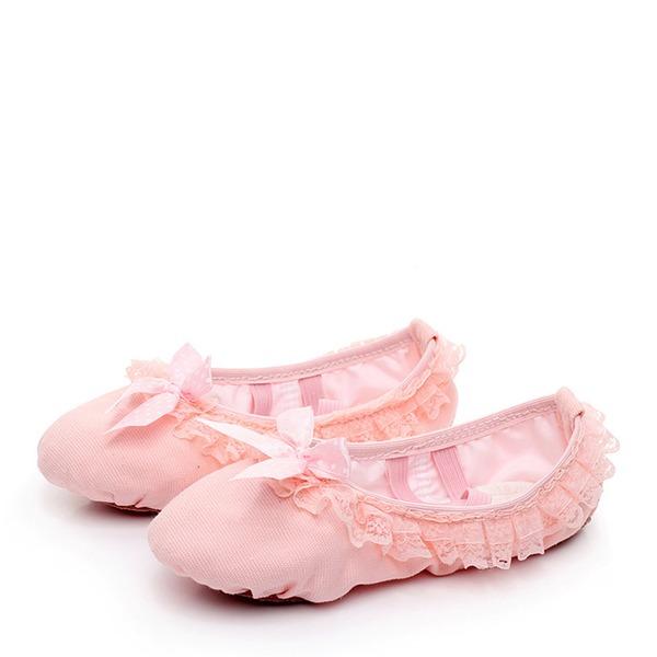 Barn Konstläder Platta Skor / Fritidsskor Ballet Dansskor