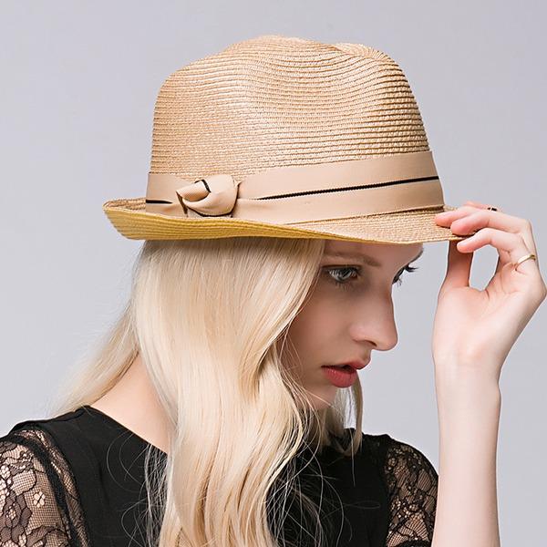 женские восхитительно Плетеная соломы соломенная шляпа