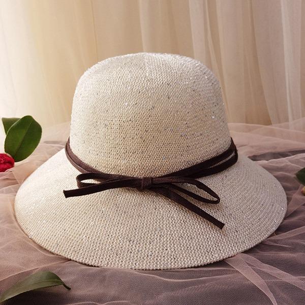 Damene ' Nydelig/Glamorøse/Klassisk stil/Elegant Polyester Diskett Hatt
